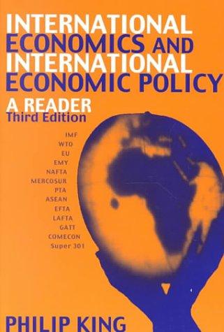 International Economics and International Economics Policy: A Reader als Buch (kartoniert)
