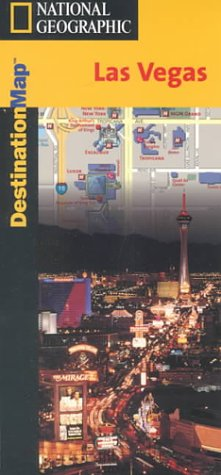 Destination Map-Las Vegas - Destinations Map als Blätter und Karten