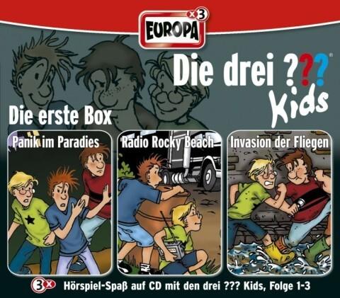 Die drei ??? Kids. 3er-Box Folgen 1-3 (drei Fragezeichen) 3 CDs als Hörbuch CD