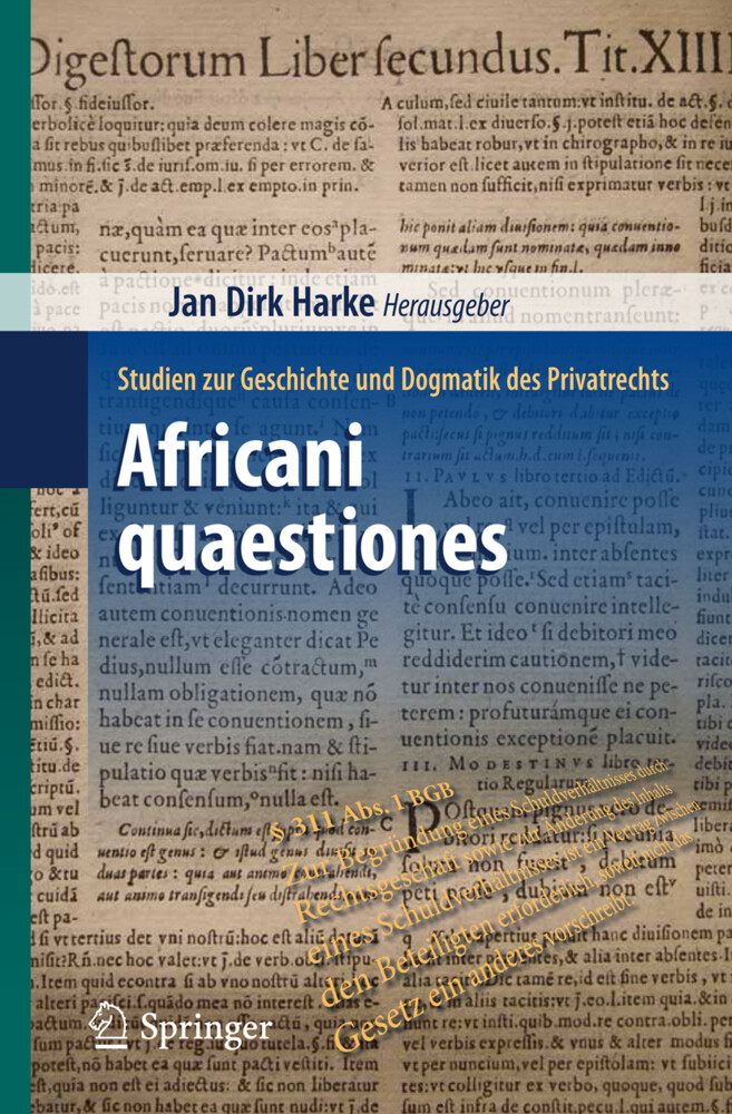 Africani quaestiones als Buch (kartoniert)