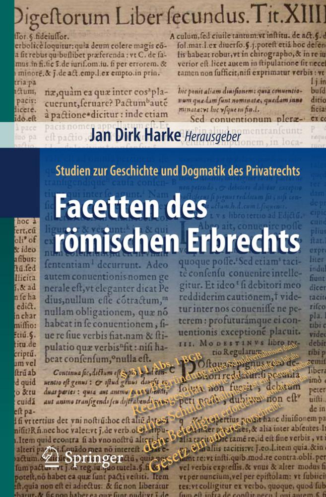 Facetten des römischen Erbrechts als Buch (kartoniert)