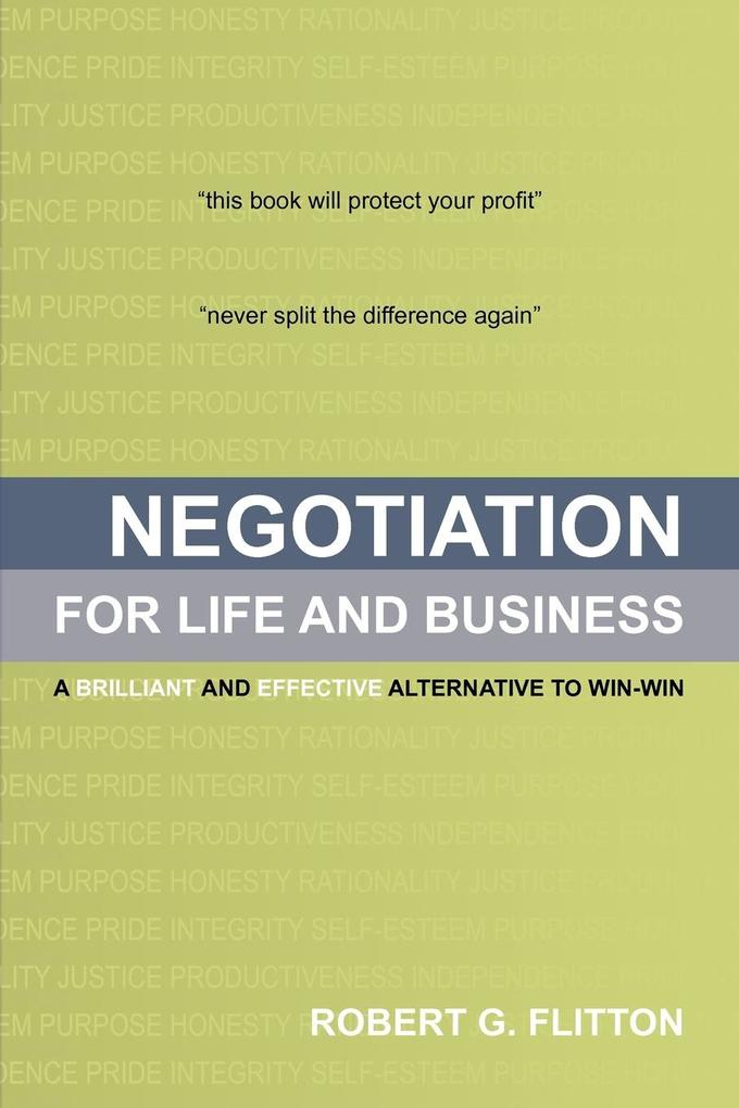 Negotiation for Life and Business als Taschenbuch