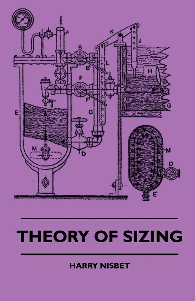 Theory Of Sizing als Taschenbuch
