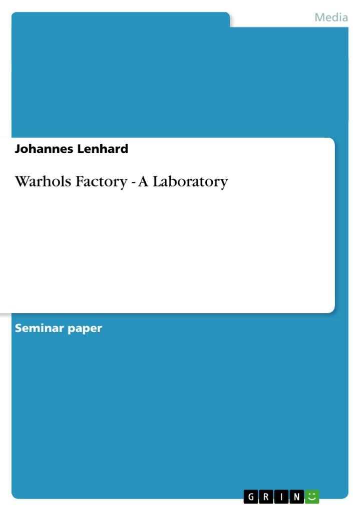 Warhols Factory - A Laboratory als Buch (kartoniert)