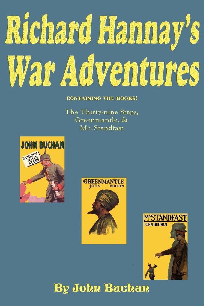 Richard Hannay's War Adventures als Taschenbuch