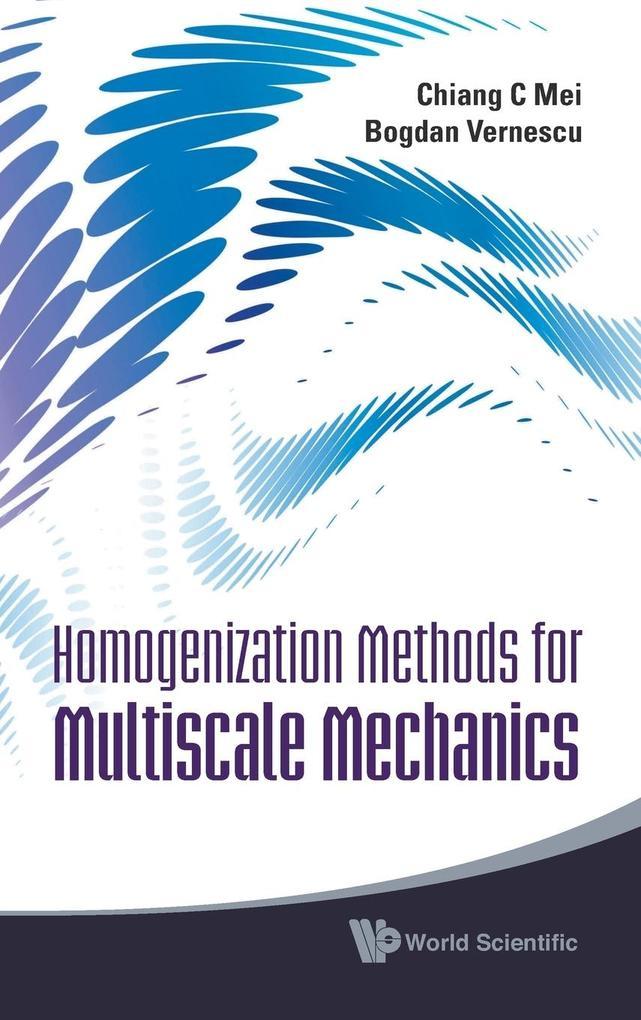 Homogenization Methods for Multiscale Mechanics als Buch (gebunden)
