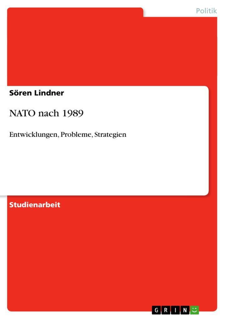 NATO nach 1989 als Buch (kartoniert)