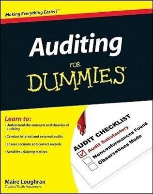 Auditing For Dummies als Taschenbuch
