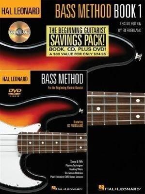 Hal Leonard Bass Method Beginner's Pack: The Beginning Bassist Savings Pack! als Taschenbuch