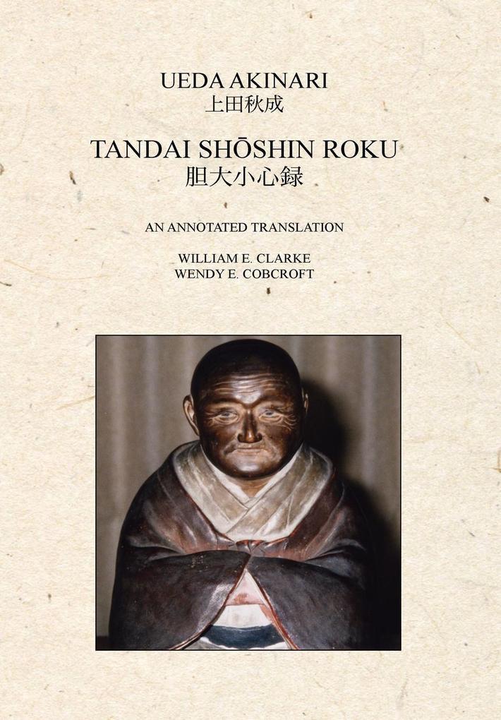 Tandai Shoshin Roku als Buch (gebunden)