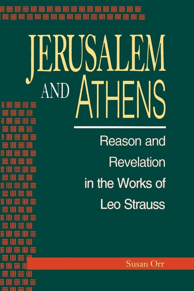 Jerusalem and Athens als Taschenbuch
