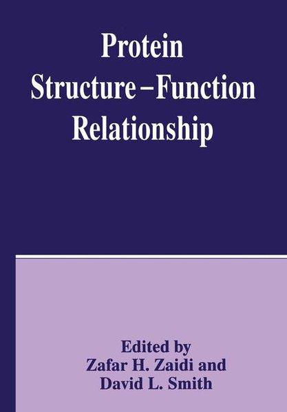 Protein Structure -- Function Relationship als Buch (gebunden)