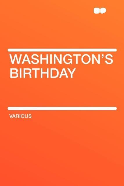 Washington's Birthday als Taschenbuch