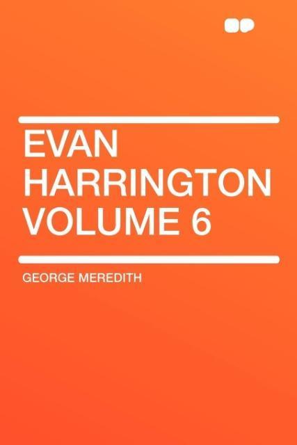 Evan Harrington Volume 6 als Taschenbuch