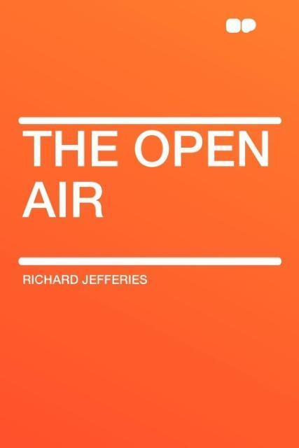 The Open Air als Taschenbuch