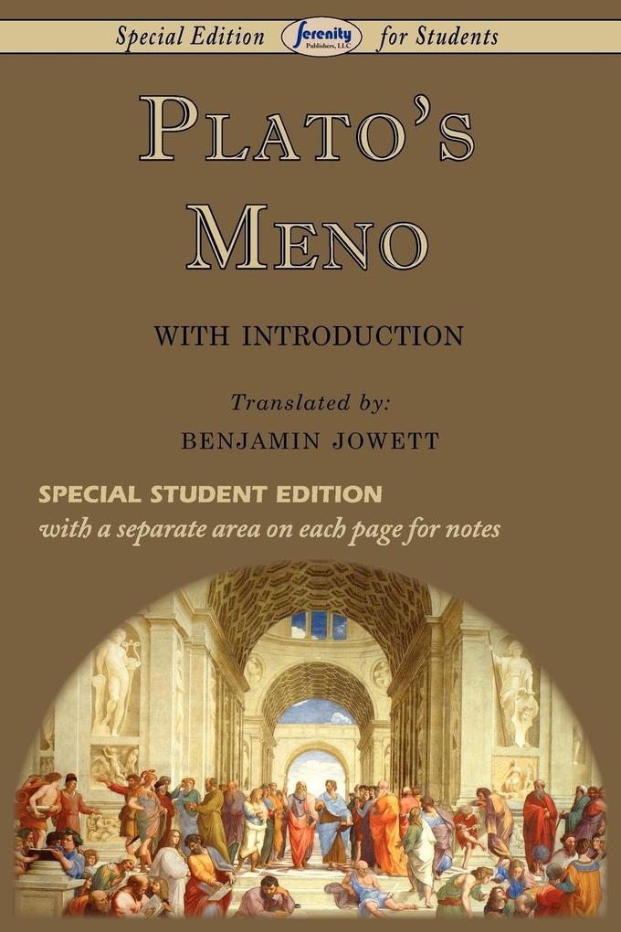 Meno (Special Edition for Students) als Taschenbuch