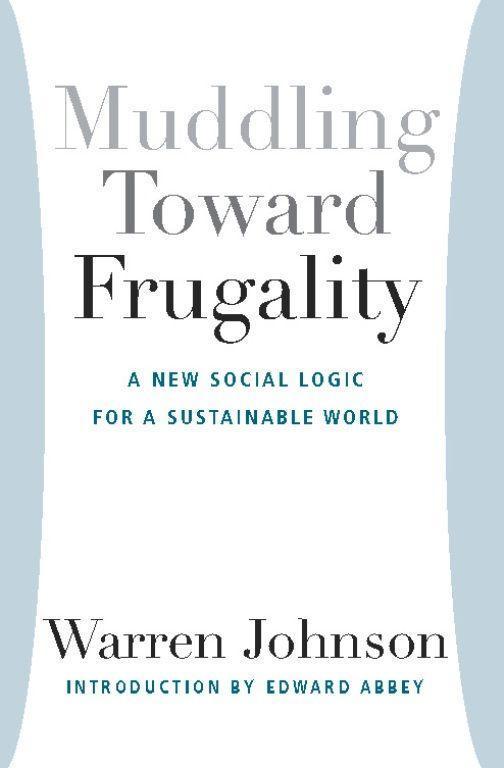 Muddling Toward Frugality als Taschenbuch