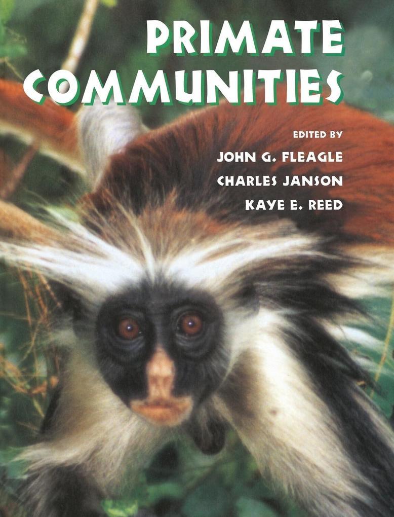 Primate Communities als Buch (gebunden)