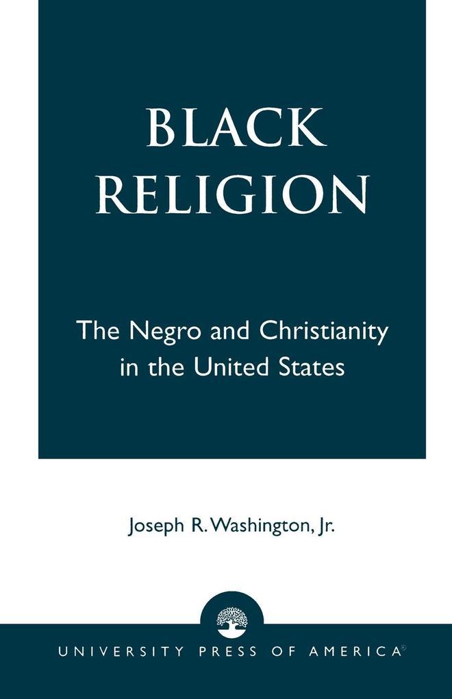 Black Religion als Taschenbuch
