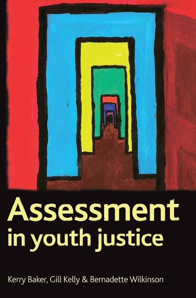 Assessment in Youth Justice als Buch (gebunden)