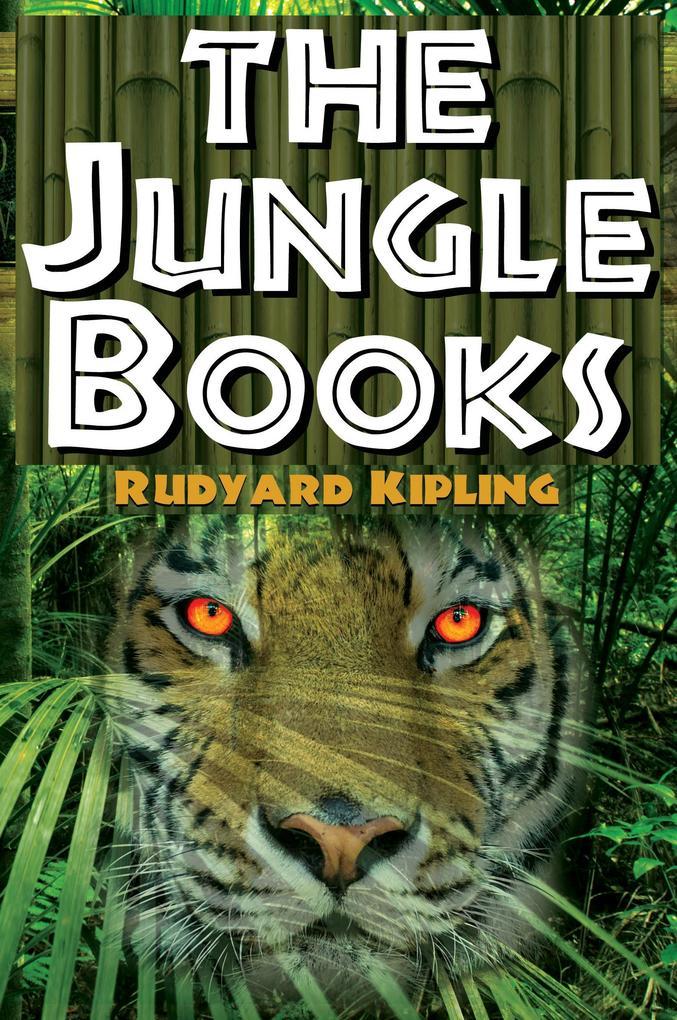 The Jungle Books als Buch (kartoniert)