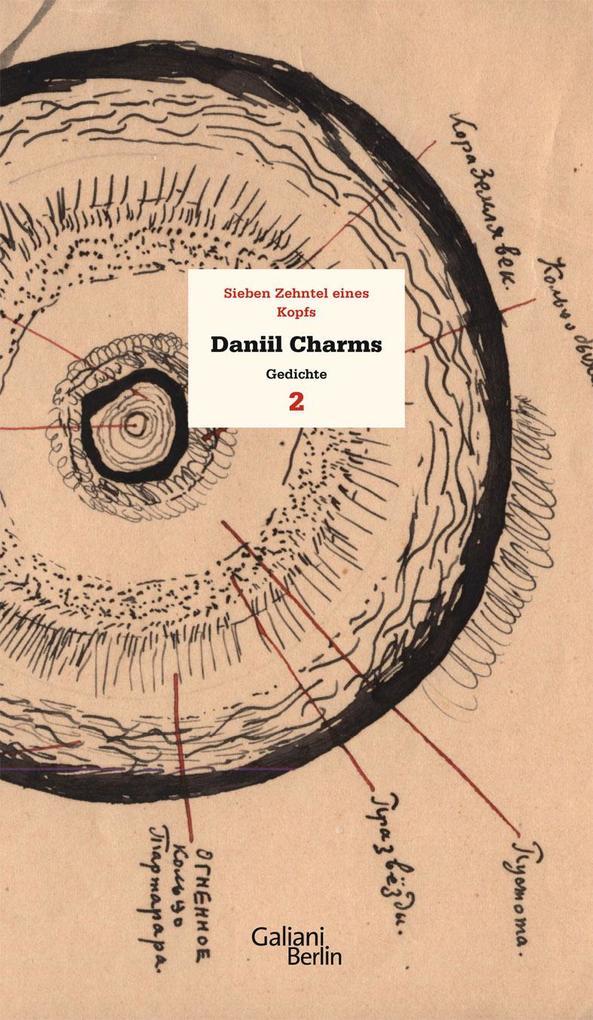 Charms Werk 02. Sieben Zehntel eines Kopfs als Buch (gebunden)