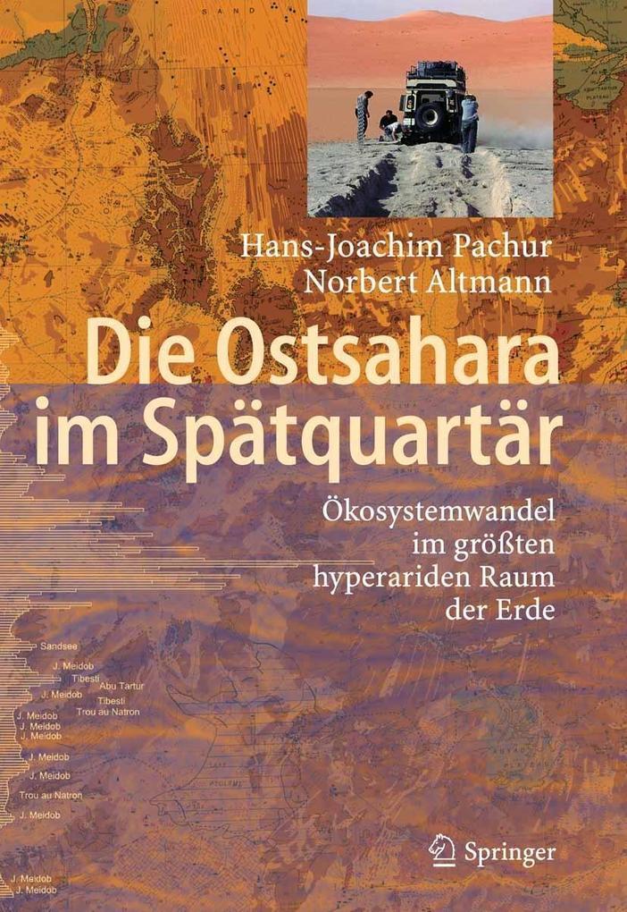 Die Ostsahara im Spätquartär als eBook pdf