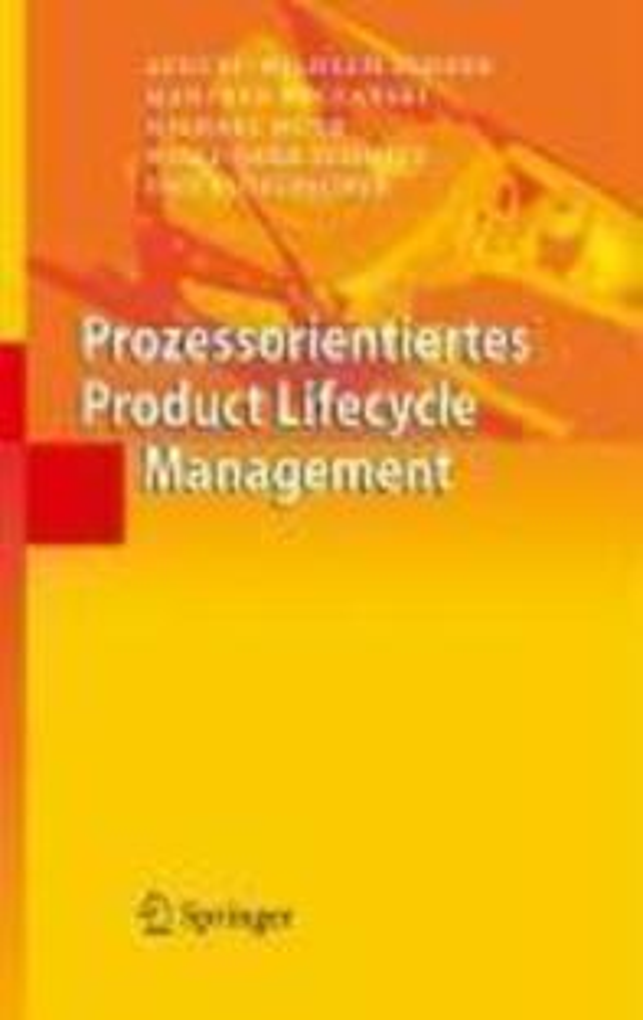 Prozessorientiertes Product Lifecycle Management als eBook pdf