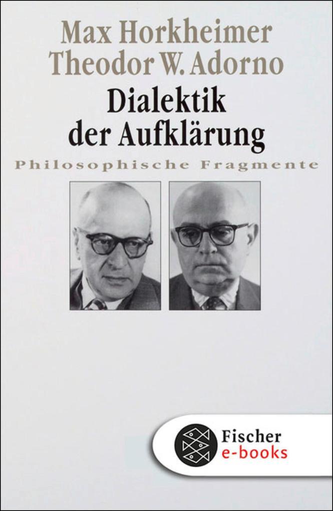 Dialektik der Aufklärung als eBook epub