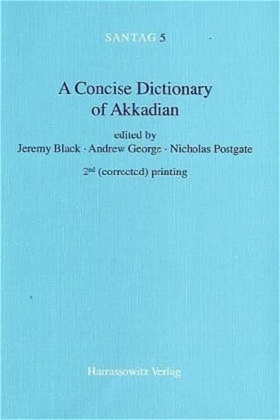 A Concise Dictionary of Akkadian als Buch (kartoniert)