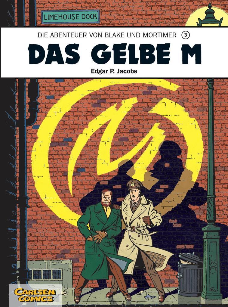 Blake und Mortimer 3: Das gelbe M als Buch (kartoniert)