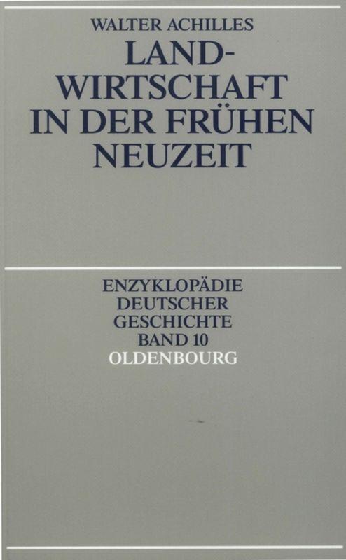 Landwirtschaft in der Frühen Neuzeit als Buch (kartoniert)