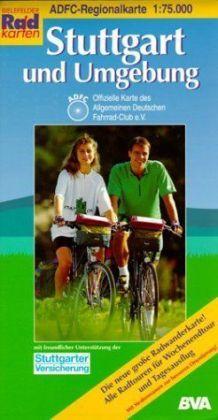 ADFC-Regionalkarte Stuttgart und Umgebung 1 : 75 000 als Buch