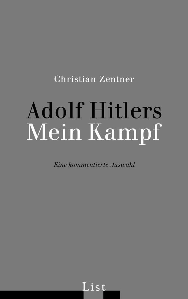 Adolf Hitlers Mein Kampf als Buch (kartoniert)