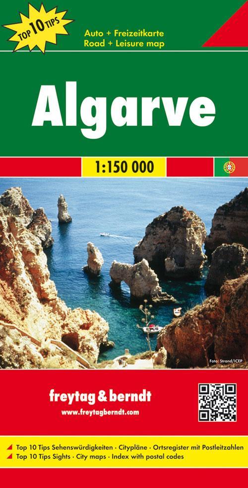Algarve 1 : 150 000 als Blätter und Karten