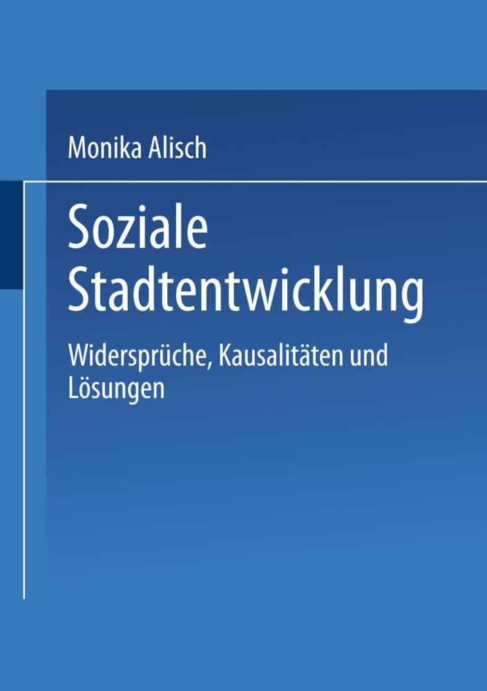 Soziale Stadtentwicklung als Buch (kartoniert)
