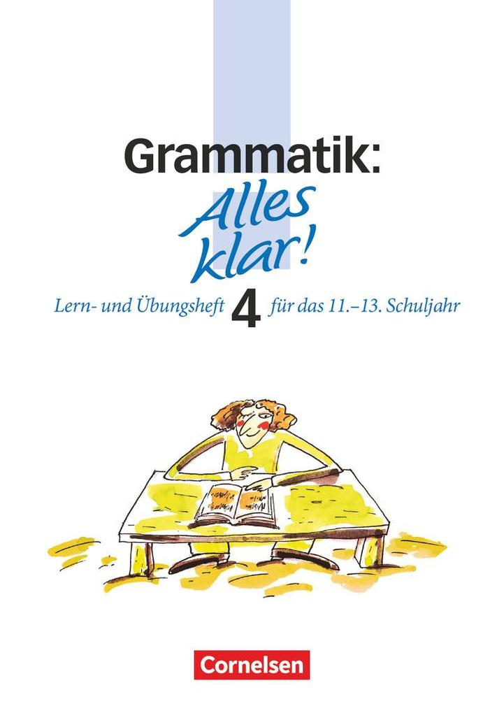 Alles klar! Grammatik. Oberstufe. RSR als Buch (kartoniert)