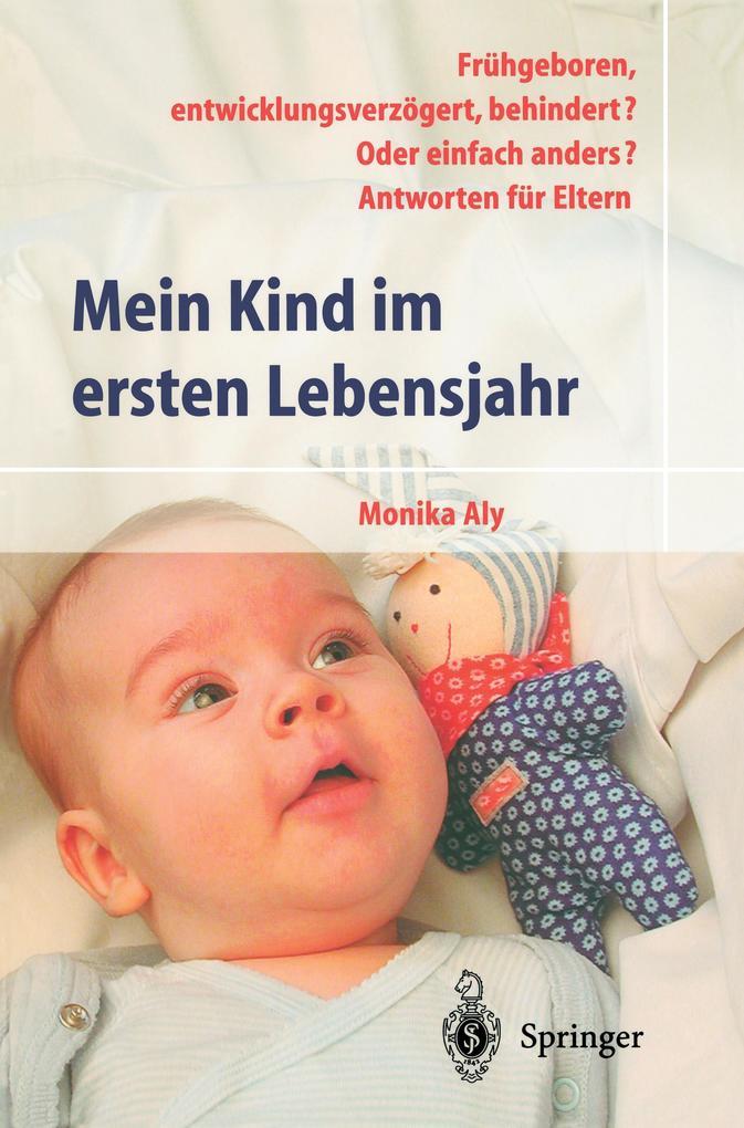 Mein Kind im ersten Lebensjahr als Buch (gebunden)
