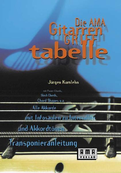 Die AMA- Gitarrengrifftabelle als Buch (kartoniert)