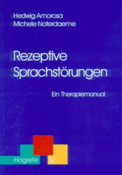 Rezeptive Sprachstörungen als Buch (kartoniert)