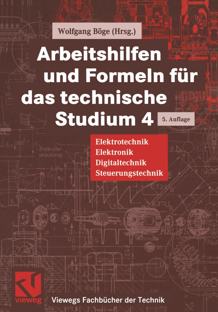 Arbeitshilfen und Formeln für das technische Studium als Buch (kartoniert)