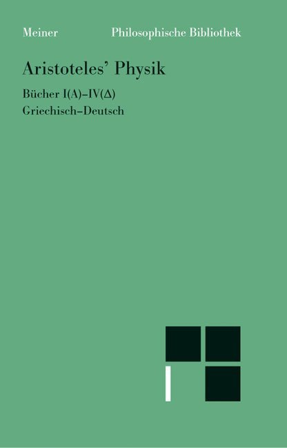 Physik. 1. Halbband (Bücher 1 - 4) als Buch (kartoniert)