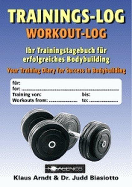 Trainings-Log als Buch (kartoniert)