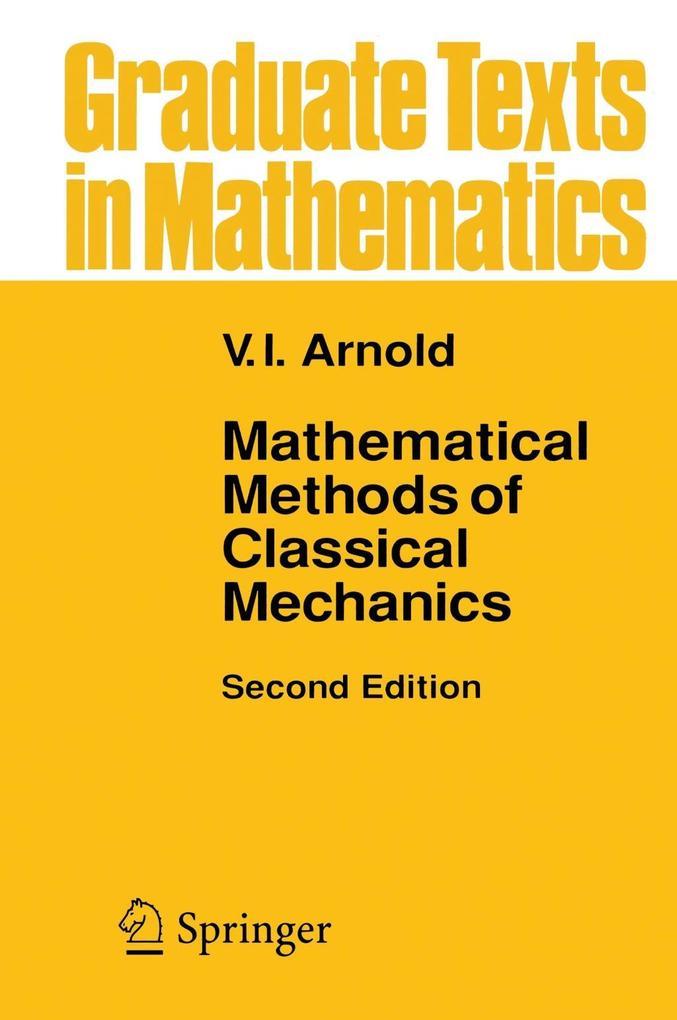 Mathematical Methods of Classical Mechanics als Buch (gebunden)
