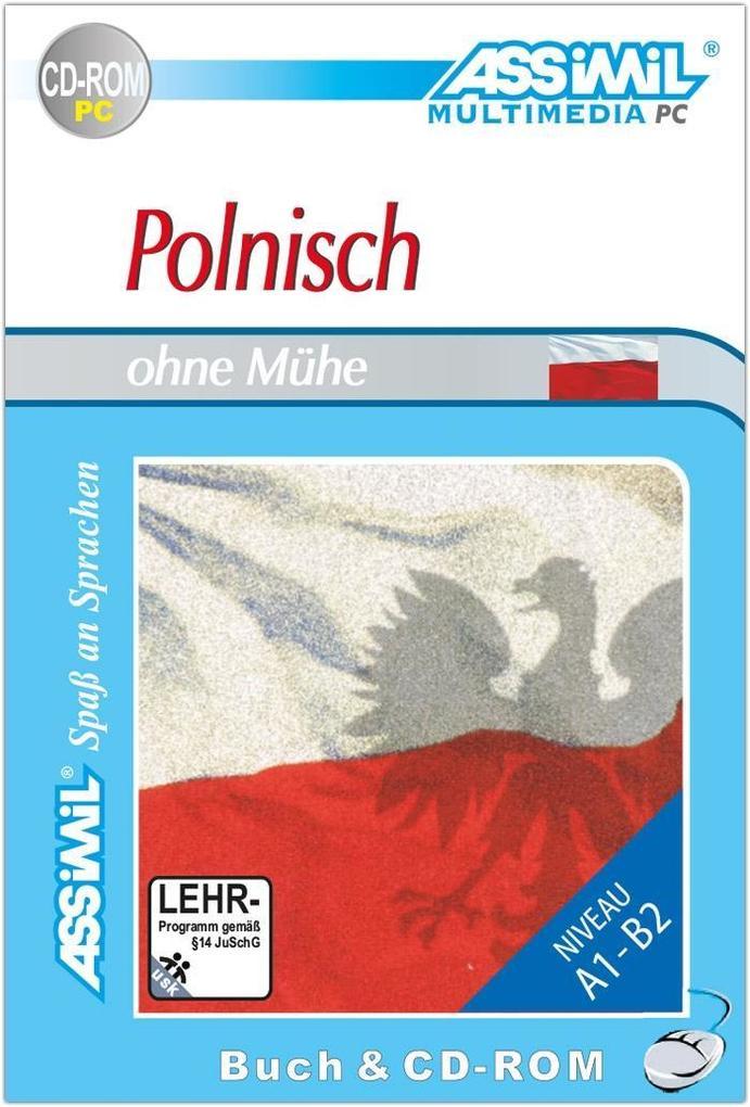 Assimil. Polnisch ohne Mühe. Multimedia-PC. Lehrbuch und CD-ROM für Win 98 / ME / 2000 / XP als Software