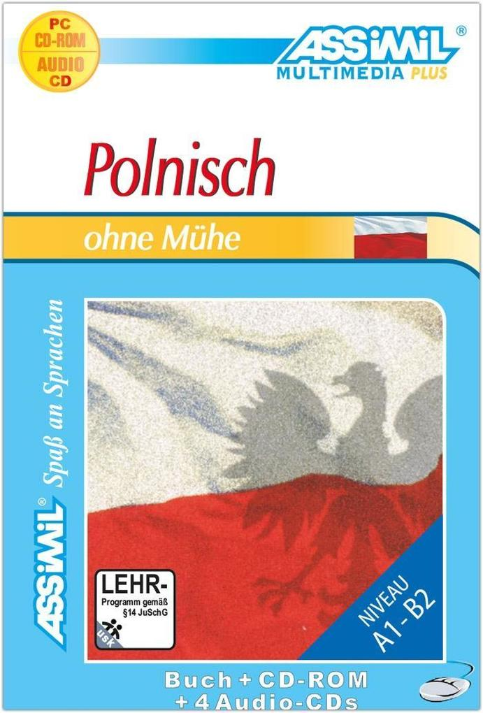 ASSiMiL Polnisch ohne Mühe - Plus-Sprachkurs - Niveau A1-B2 als Software