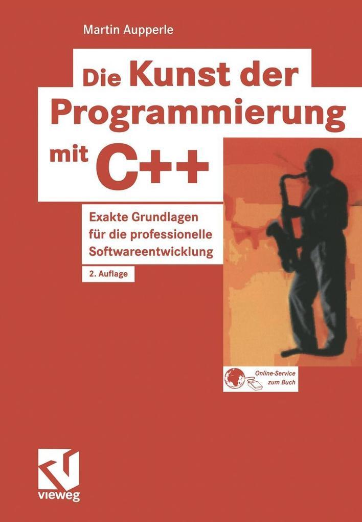 Die Kunst der Programmierung mit C++ als Buch (kartoniert)