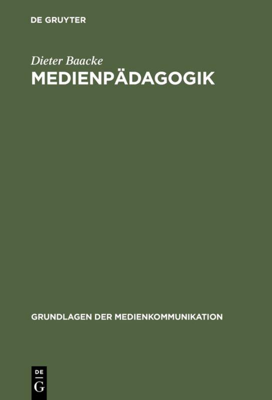 Medienpädagogik als Buch (gebunden)