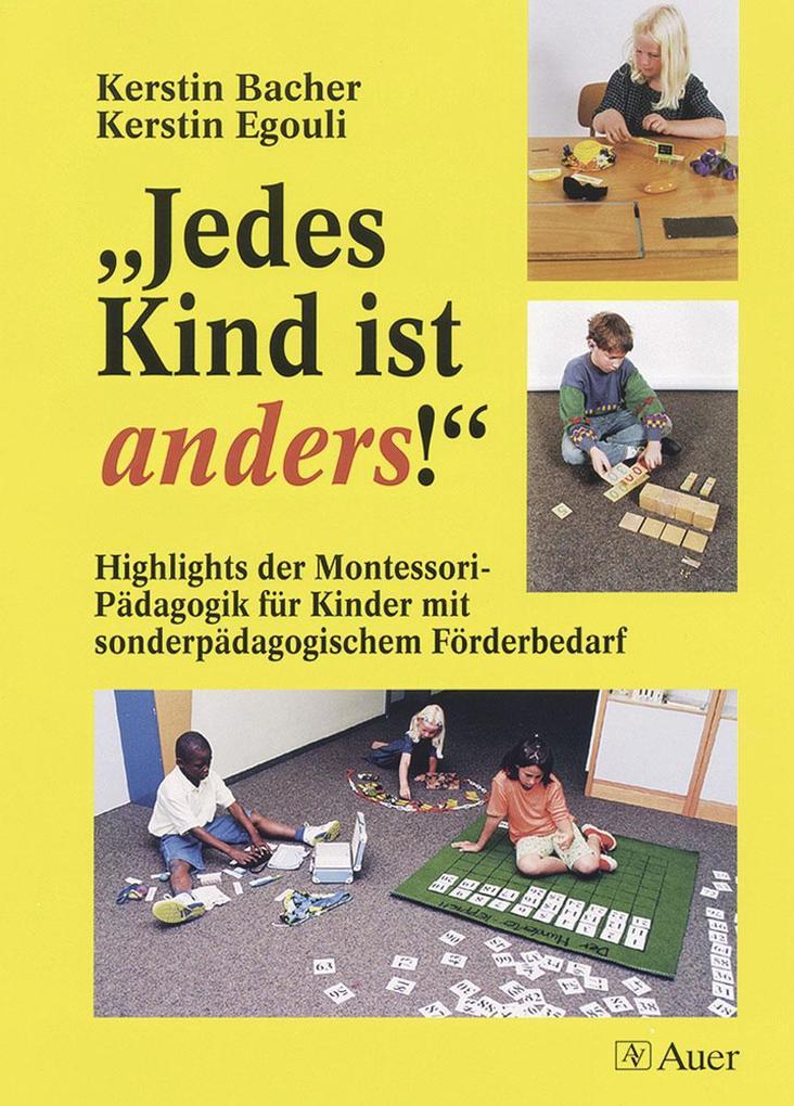 ' Jedes Kind ist anders!' als Buch (kartoniert)