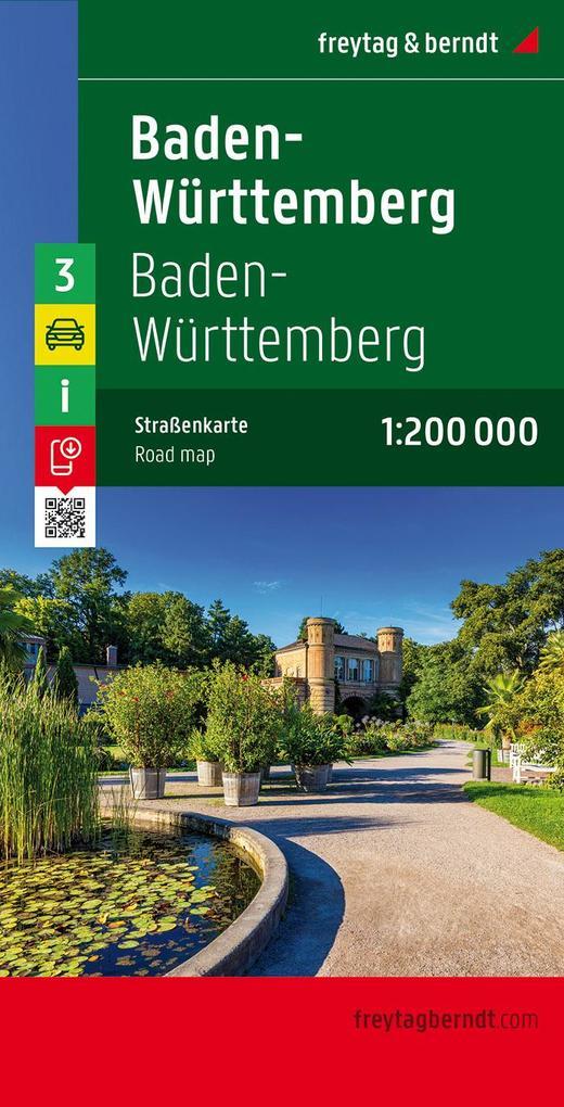Deutschland 03 Baden-Württemberg 1 : 200 000 als Blätter und Karten